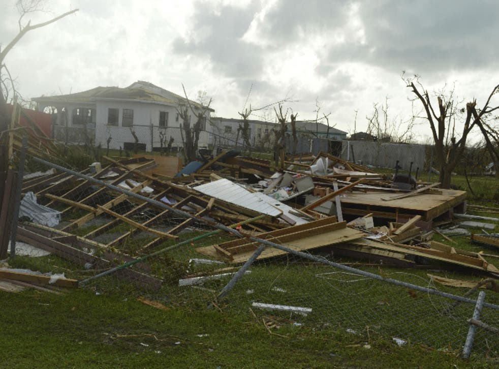 Large parts of the Turks and Caicos Islands have already been destroyed