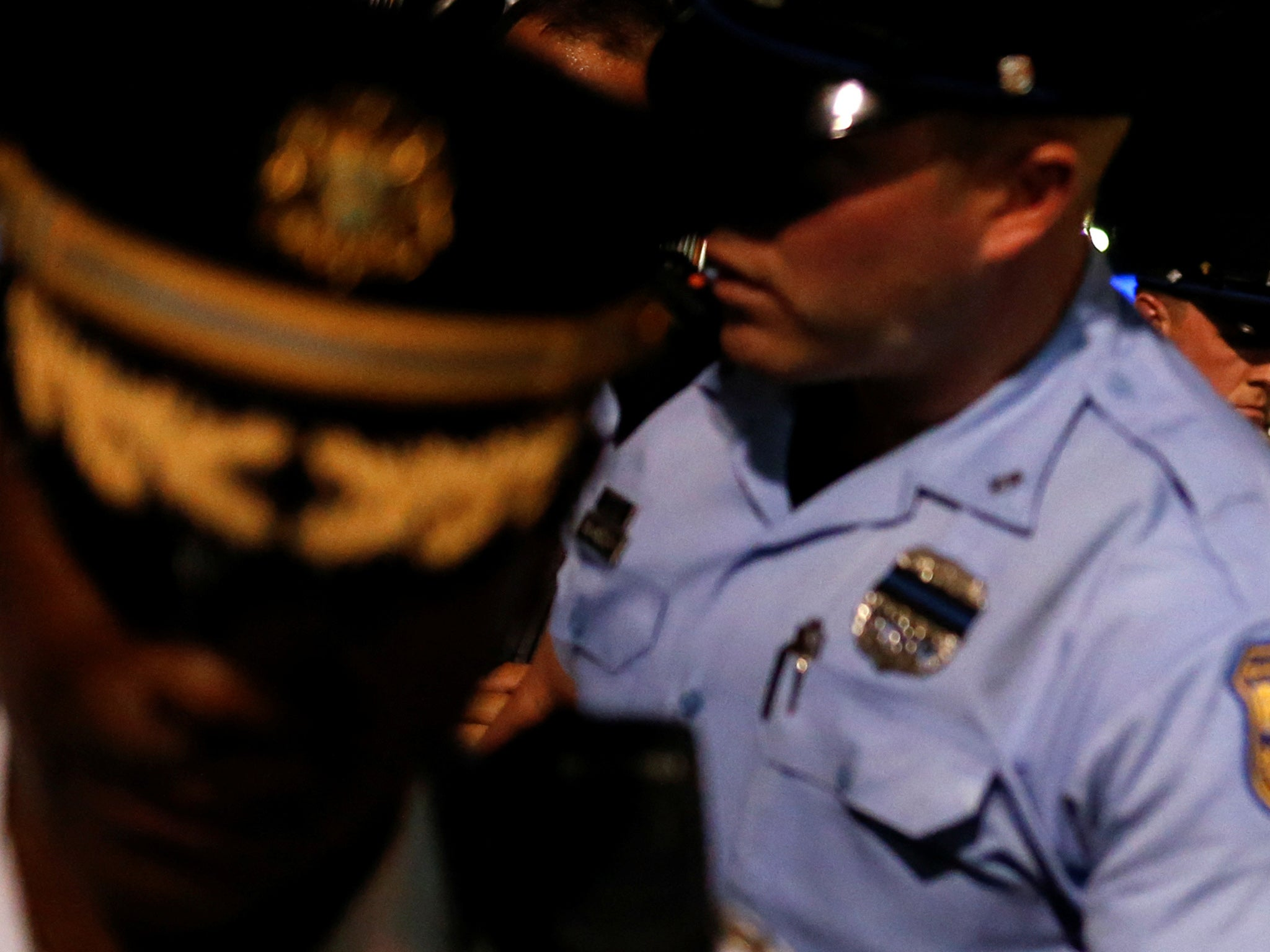 racism among white police officers Violence in america: a view from the outside there's also a sense that unconscious racism among white police officers is a.