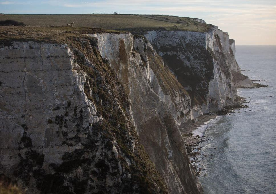 scientists discover cosmic dust in the white cliffs of dover the