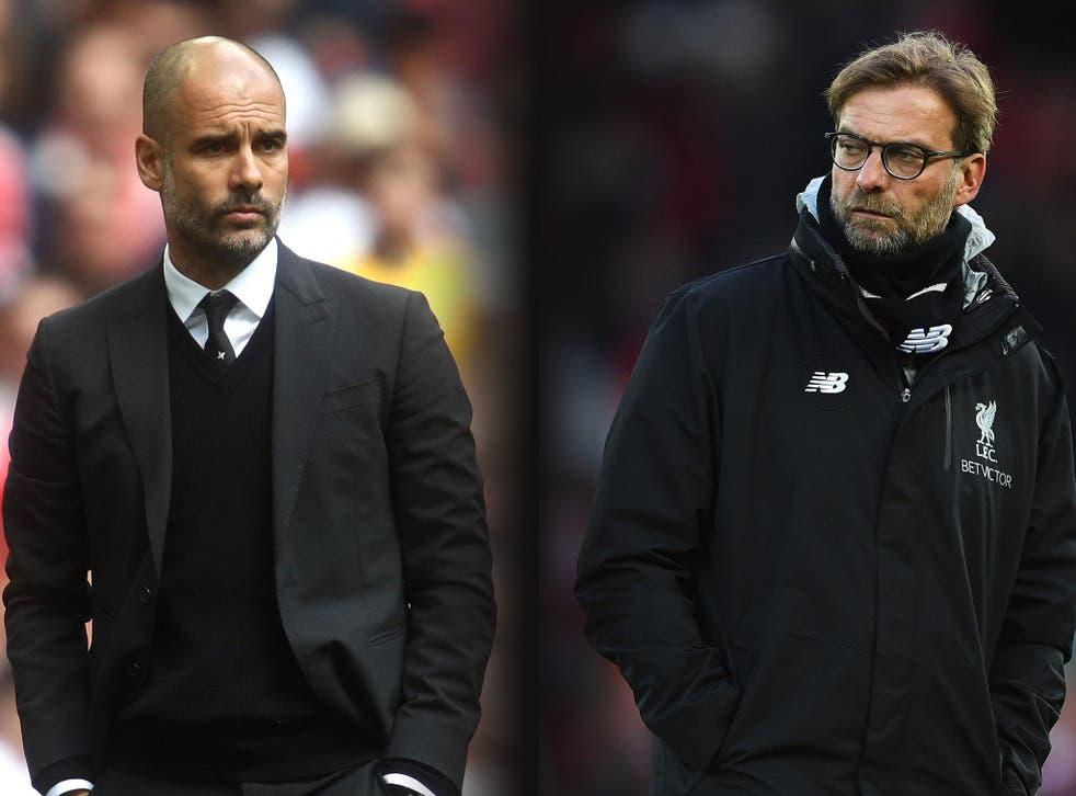 Pep Guardiola and Jurgen Klopp go head-to-head once again this weekend