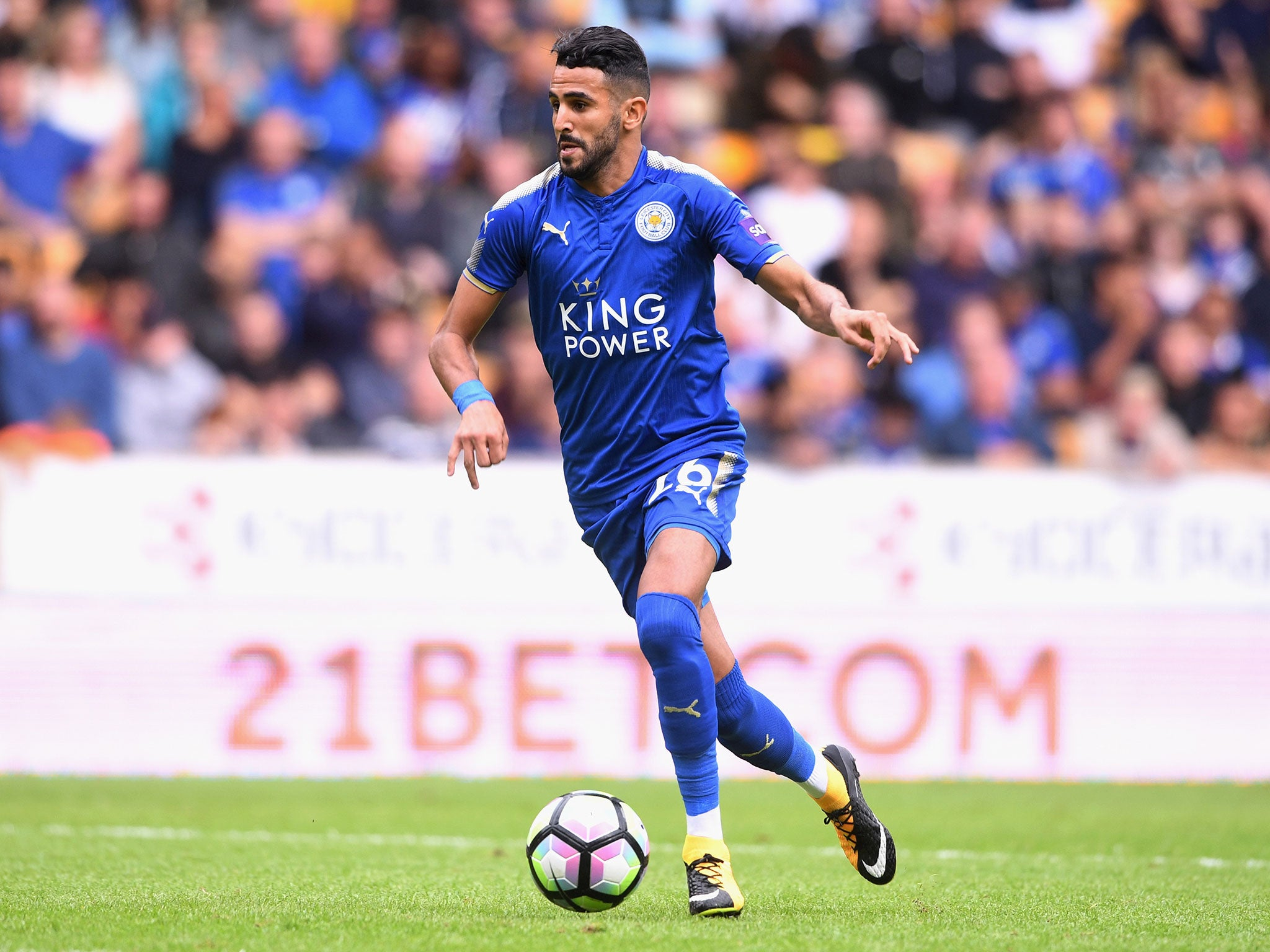 Claude Puel calls on Riyad Mahrez to show more consistency at Leicester