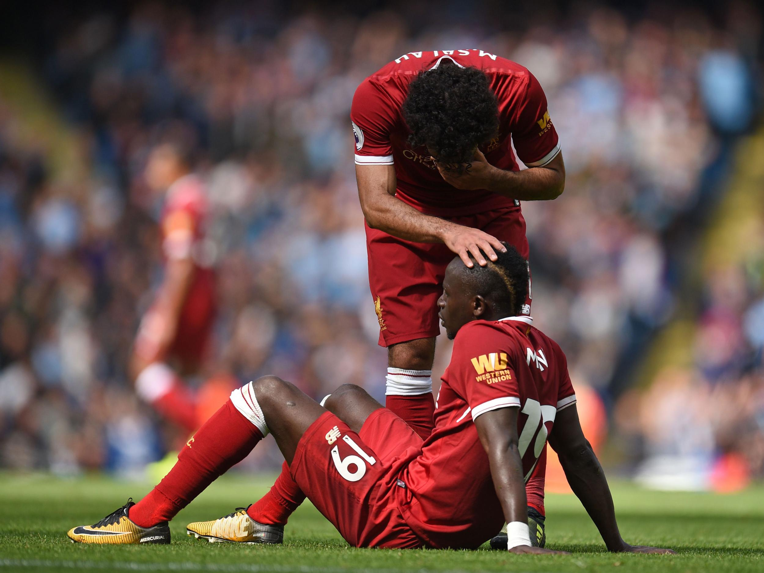 Liverpool had more than Sadio Mane's sending-off to be worried about in heavy Manchester City defeat