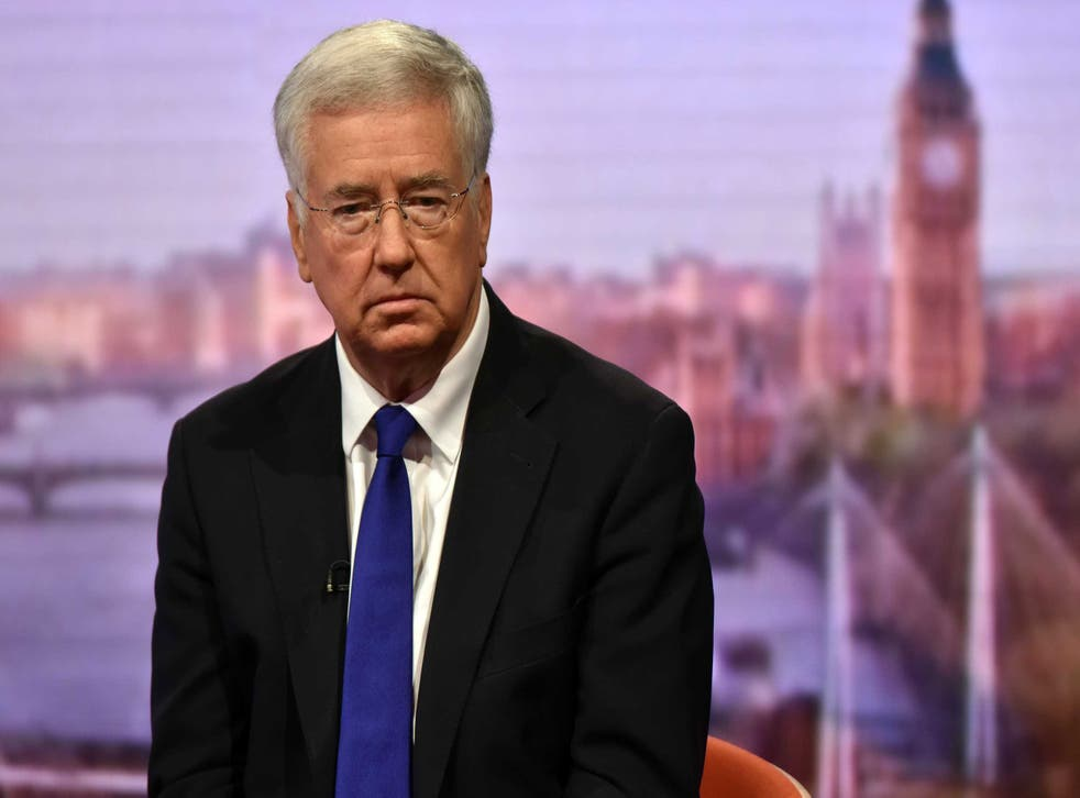 Michael Fallon is under fire over the incident in 2002