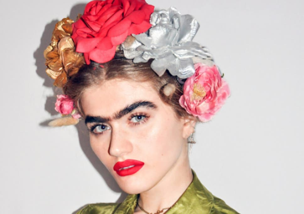 Model Brings Back The Unibrow In Viral Social Media Posts The