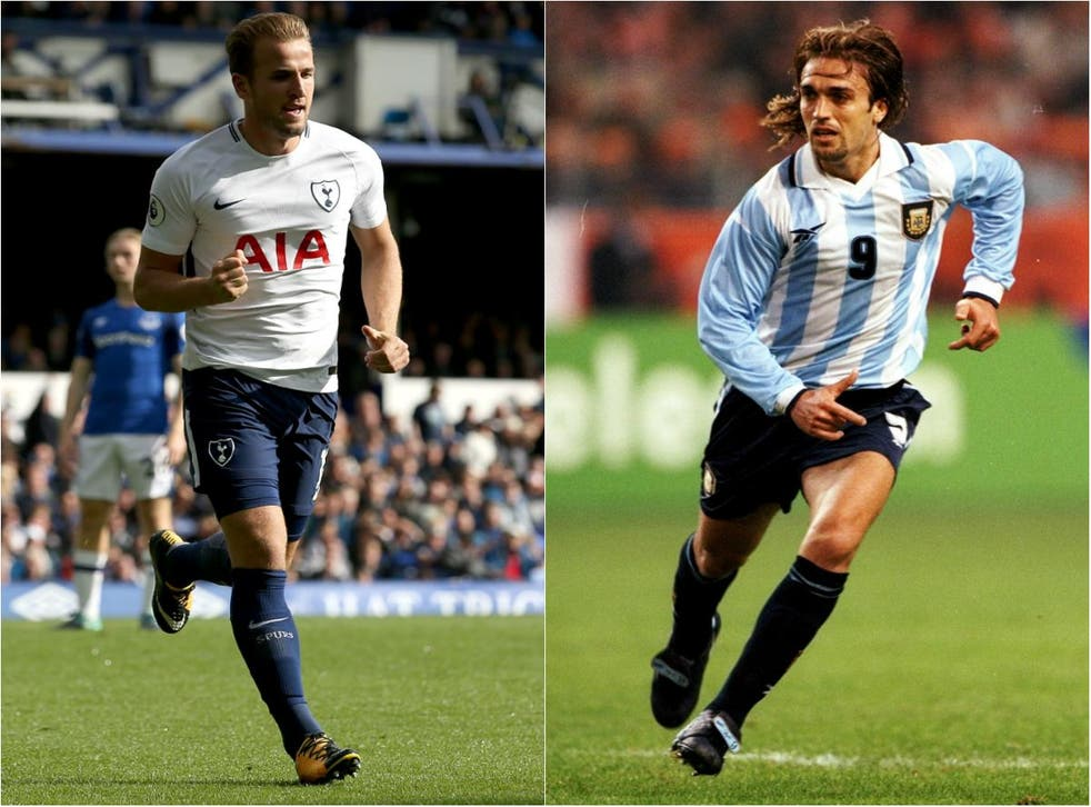 Harry Kane is drawing comparisons with the great Gabriel Batistuta