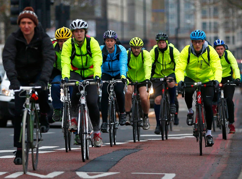 100 cyclists are killed each year on Britain's roads