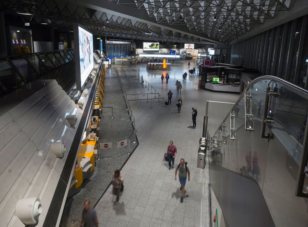 The incident came less than 48 hours after a bomb scare sparked a partial evacuation at the airport