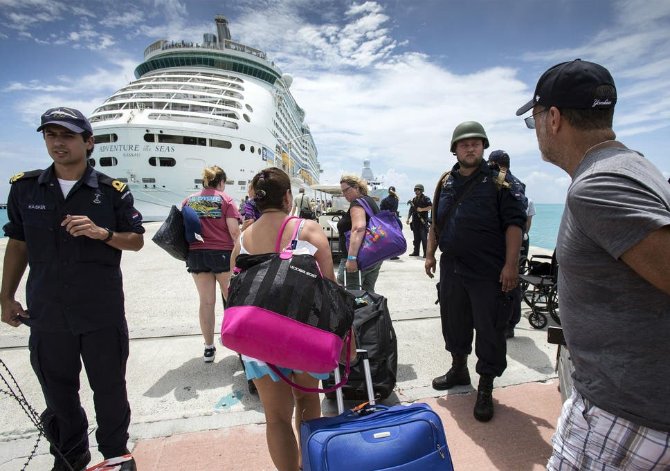Non-white residents of St Martin claim Irma evacuations show racial