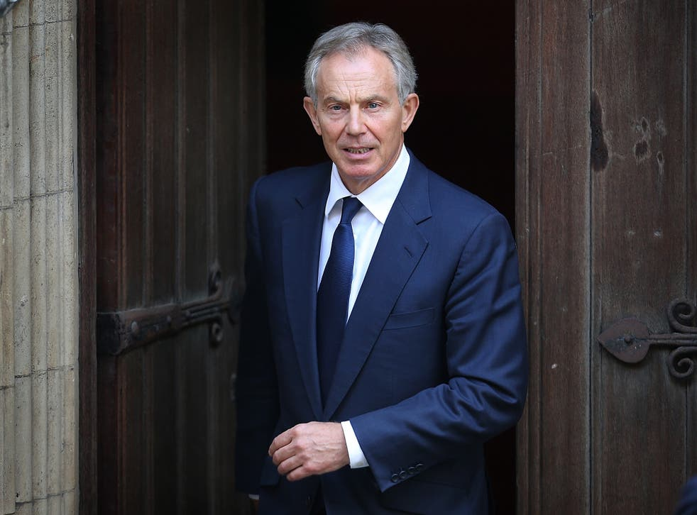 Tony Blair said the people have the right to vote on the terms of any Brexit deal either via referendum or general election