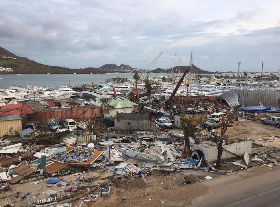 Barbuda and Antigua's prime minister has ordered a full evacuation of Barbuda after the island was hit by Hurricane Irma