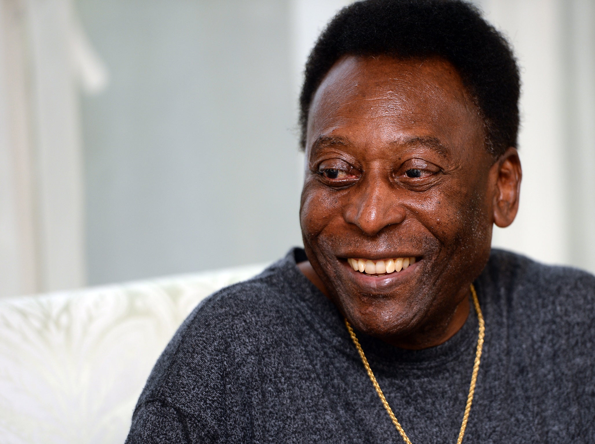 Pele Was Due To Travel To London This Weekend Getty
