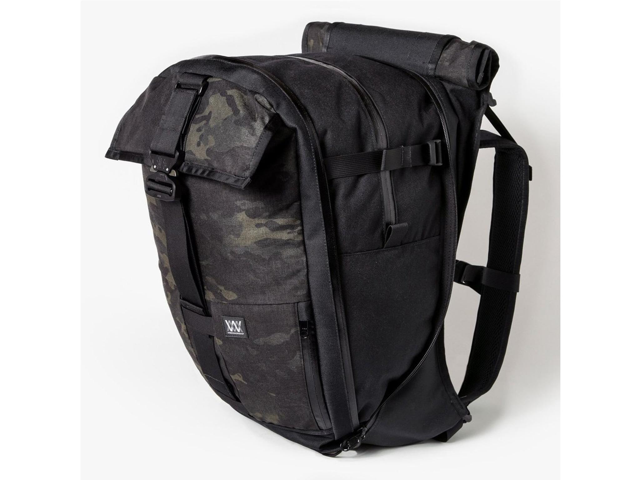 5aba58b6e4 This beast of a rucksack expands from 22L to a hulking 44L