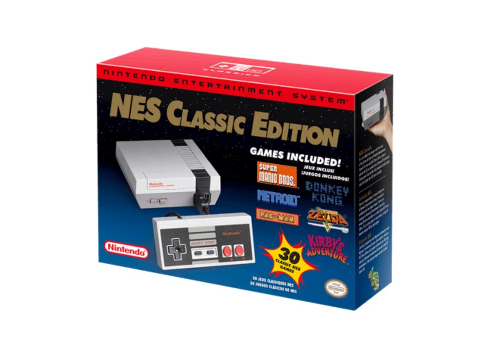 Nintendo Nes Classic Retro Games Console Resurrected Again The