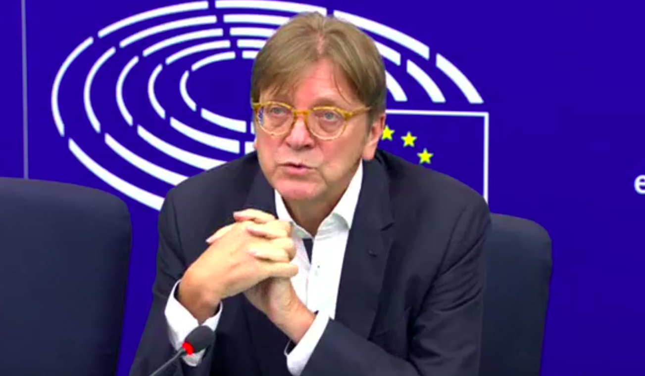 Theresa May's latest Brexit plan not 'workable solution', Guy Verhofstadt says