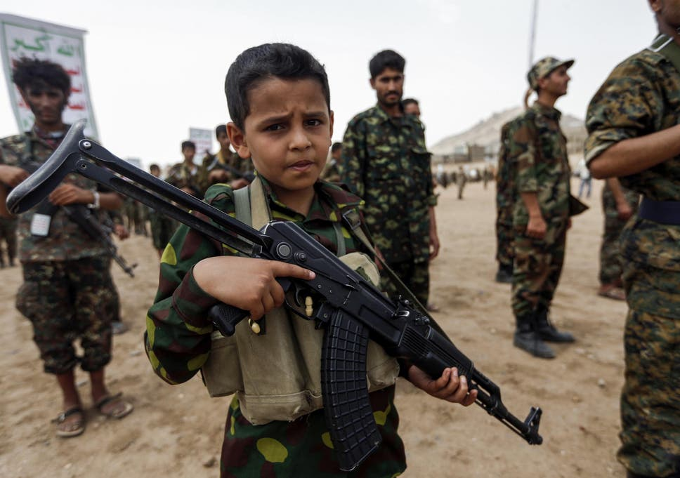 number of child soldiers in middle east doubles in a year the