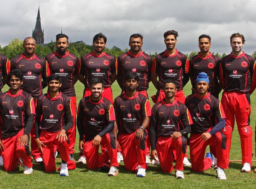 The German cricket team