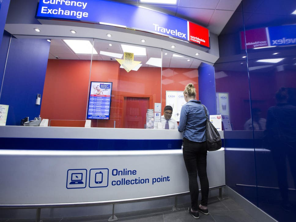Airport currency exchange rates are usually unfavourable