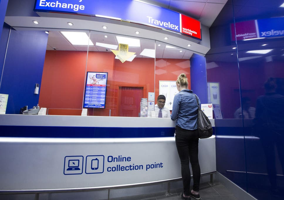 Rip off airport currency exchange rates hit new lows against the