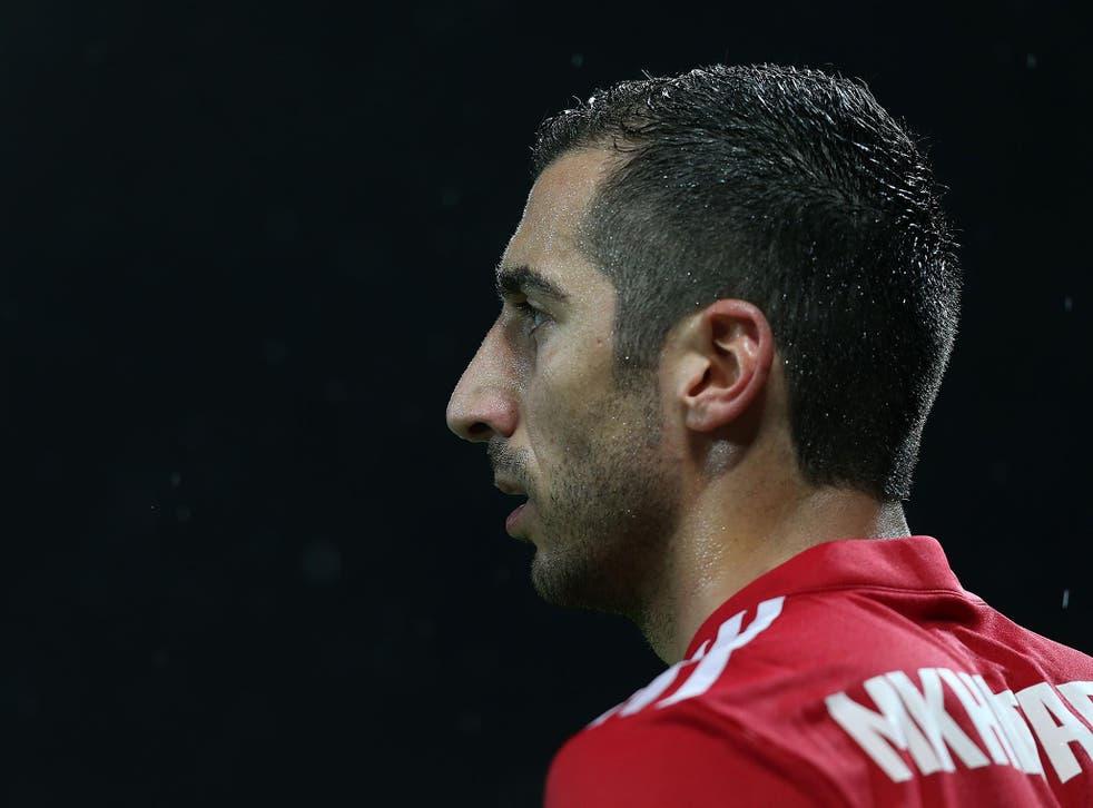 Mkhitaryan has struggled for regular game time under Mourinho