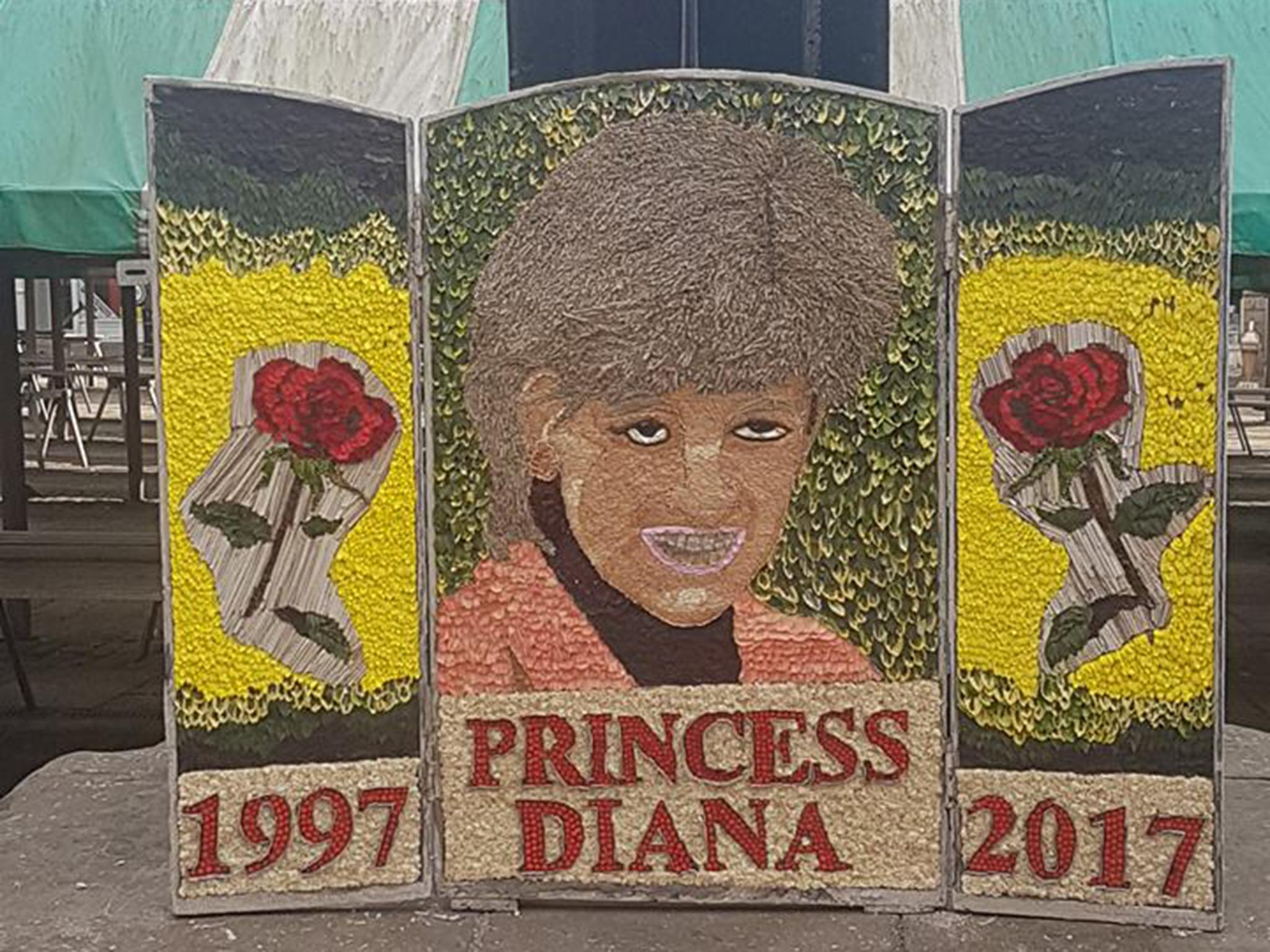 People can't quite get over the 'hideous' tribute to Princess Diana in Chesterfield