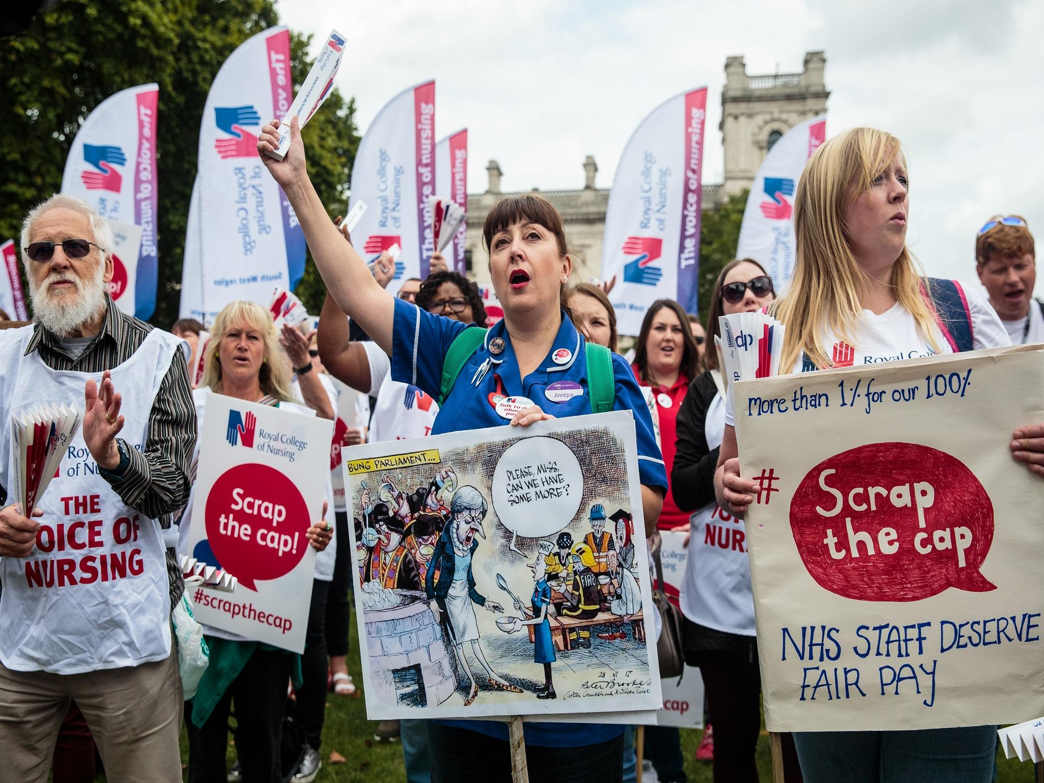 NHS staff could see pay increase up to 29% in three years, as unions