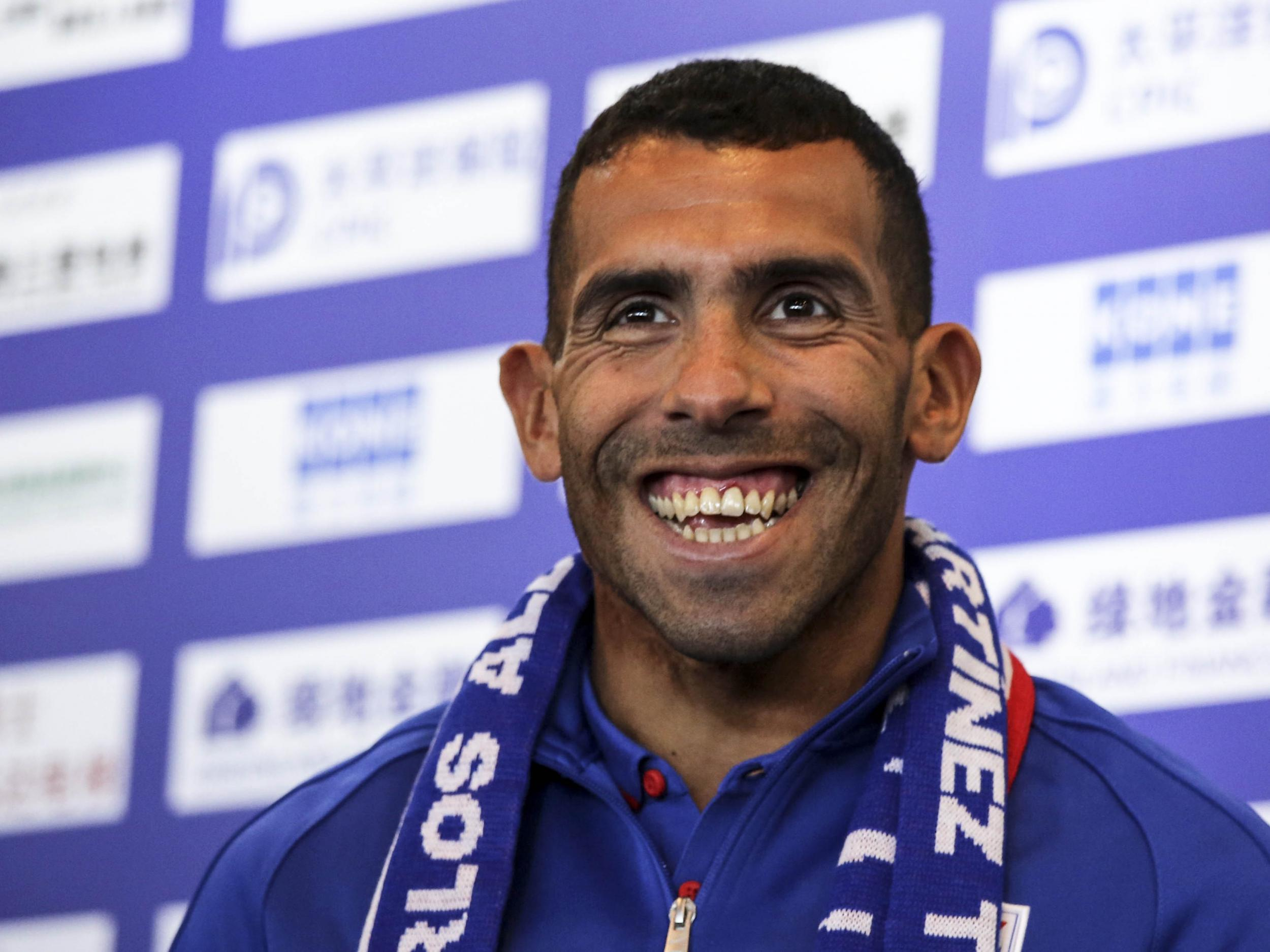 Carlos Tevez too fat to play in Chinese Super League according