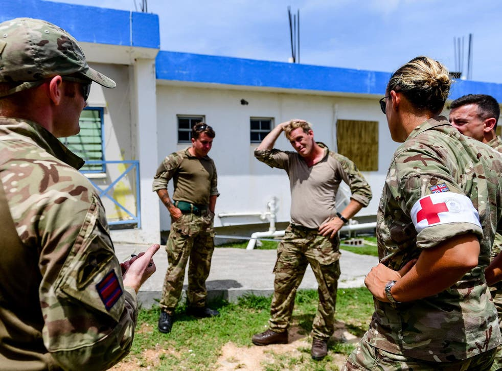 The UK was unable to use its foreign aid budget to help territories such as Anguilla recover from last year's hurricanes