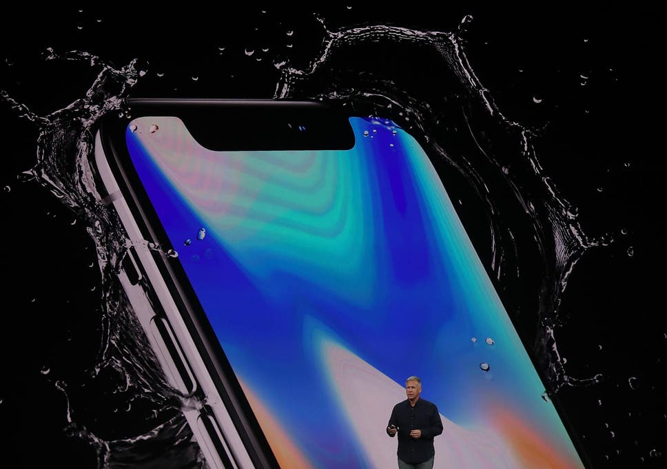 Iphone X Apples New Edge To Edge Screen Includes Strange Notch