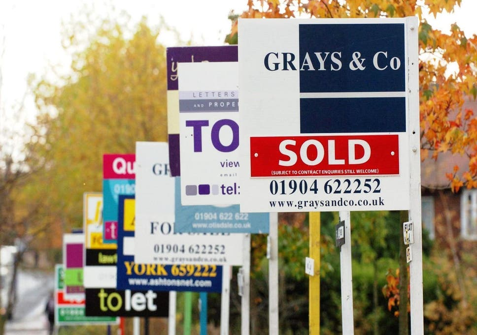 UK housing market slows as prices fall in London and South East
