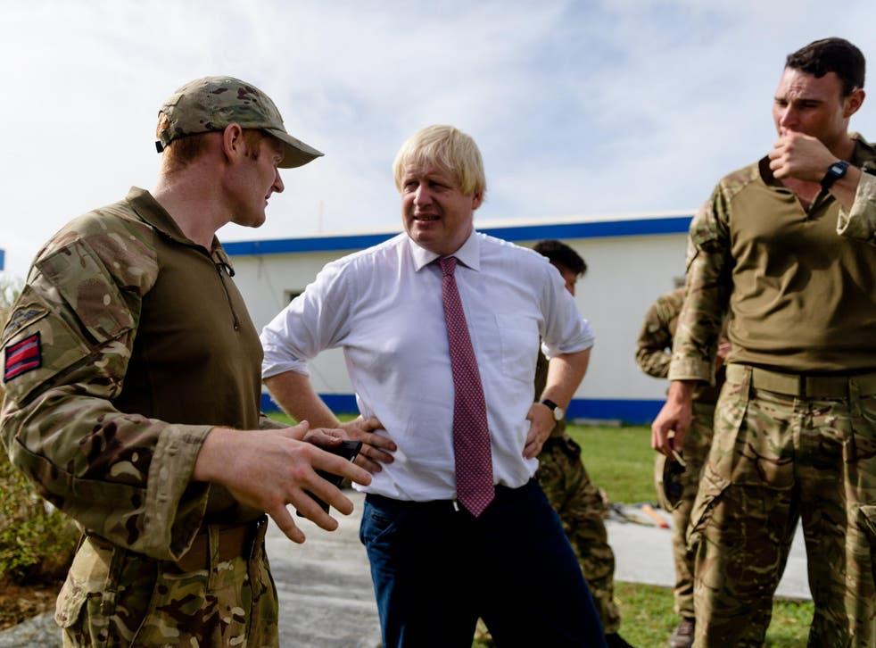 Boris Johnson seems to be upping his leadership bid, albeit in a terrible way