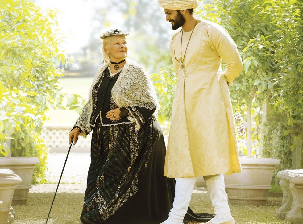 Dame Judi as Queen Victoria with Ali Fazal as Abdul Karim in Stephen Frears' 'Victoria & Abdul'