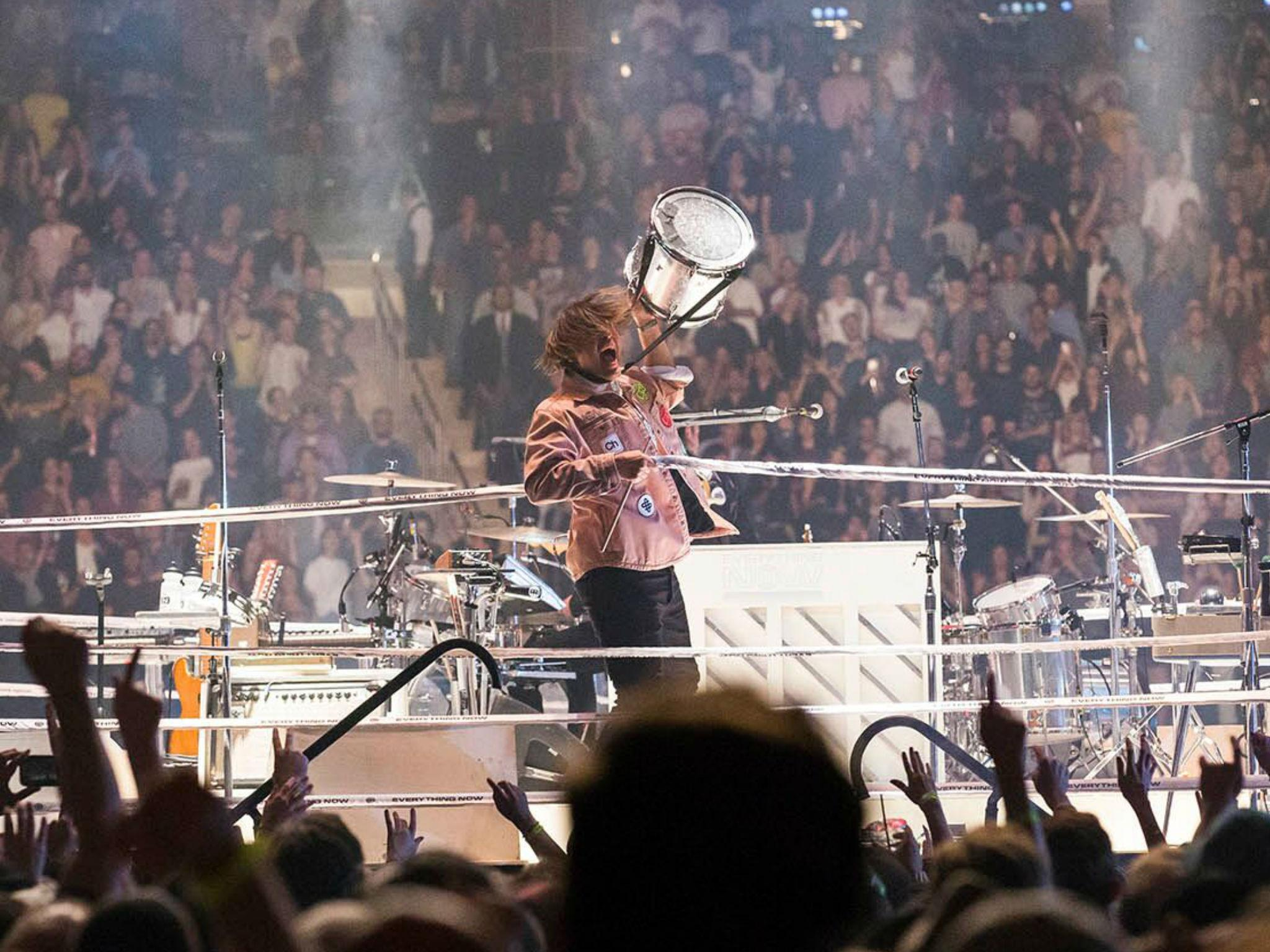 Arcade fire madison square garden review irony sincerity whatever it all sounds amazing for Arcade fire madison square garden