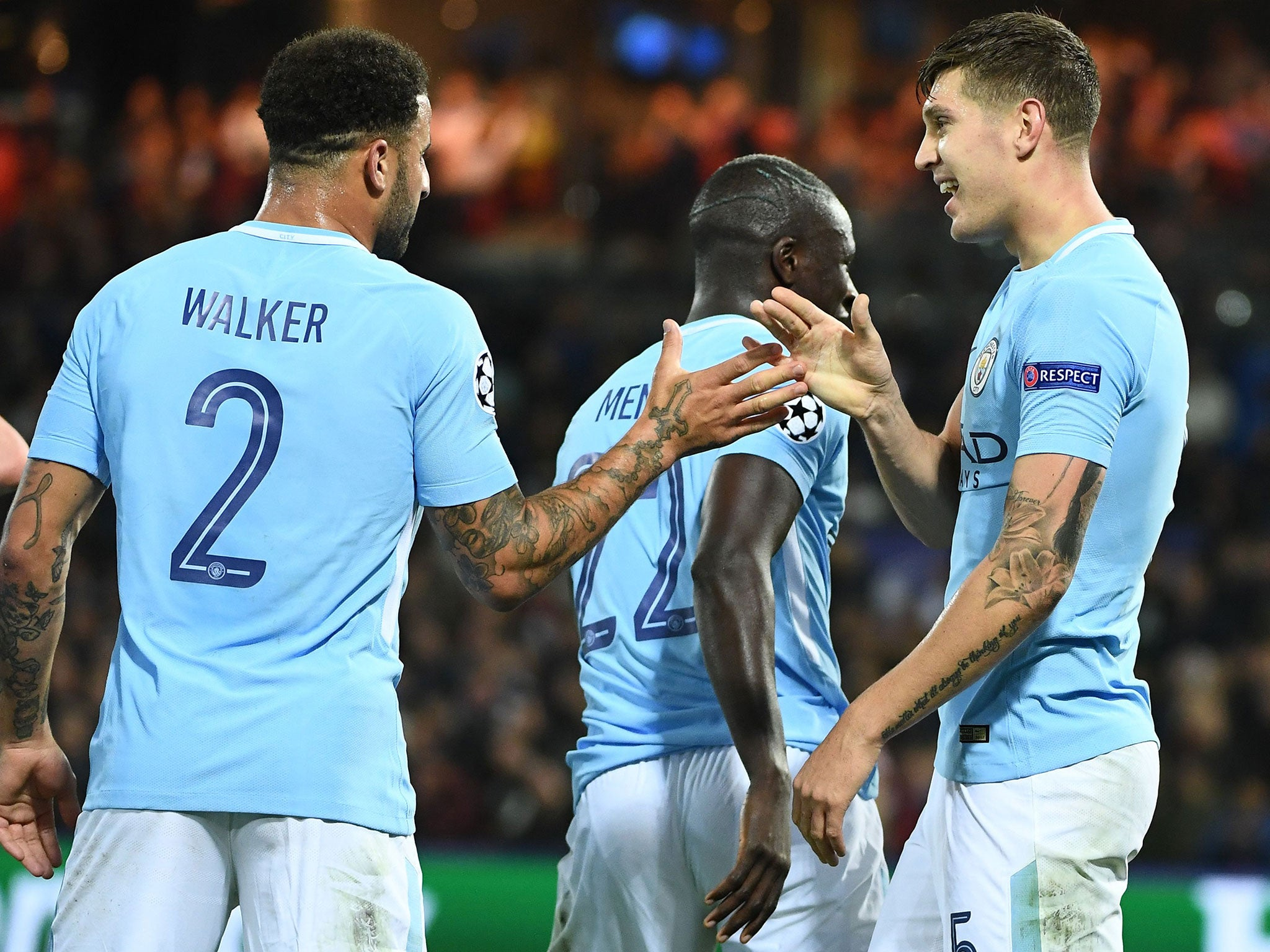 John Stones at the double as Manchester City maintain winning ways