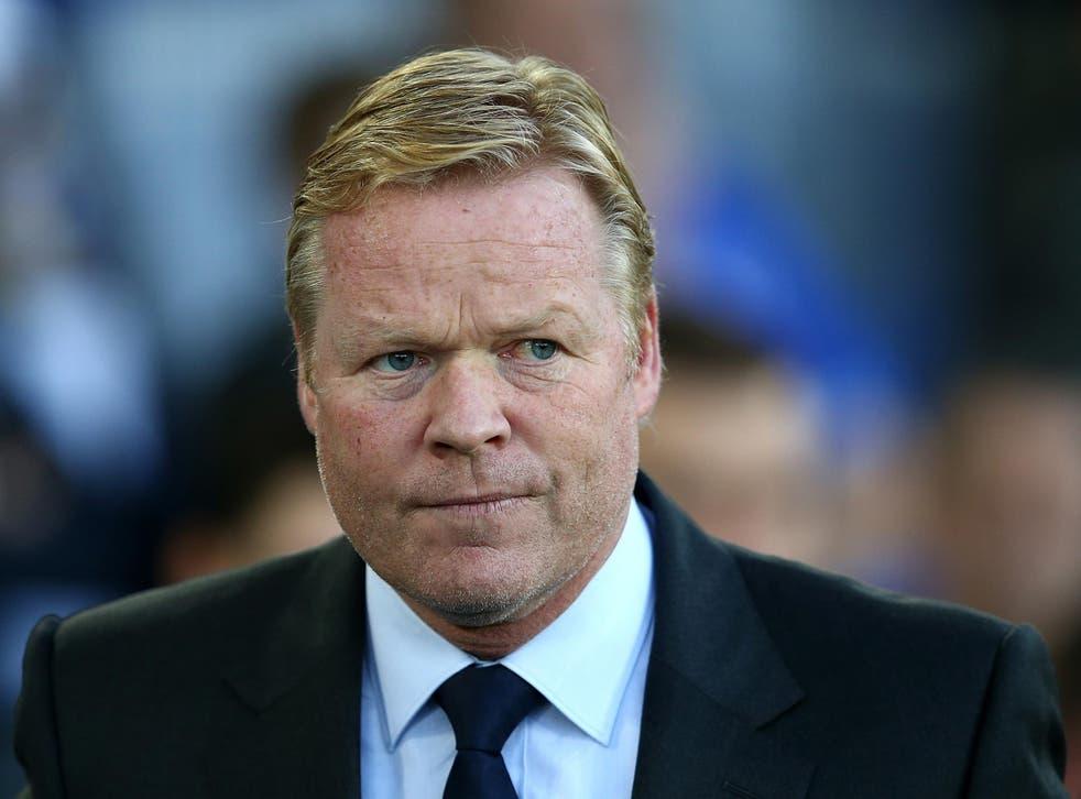 Ronald Koeman says he is taking the Europa League 'very seriously'
