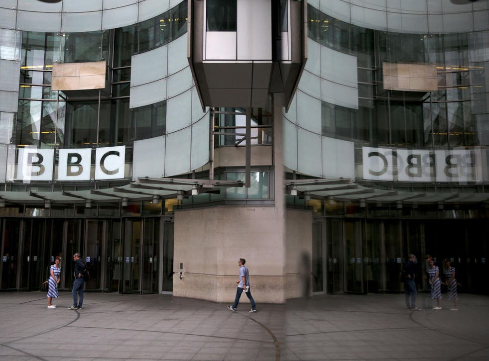 The gender pay gap across the BBC is just over 9 per cent - half the national average