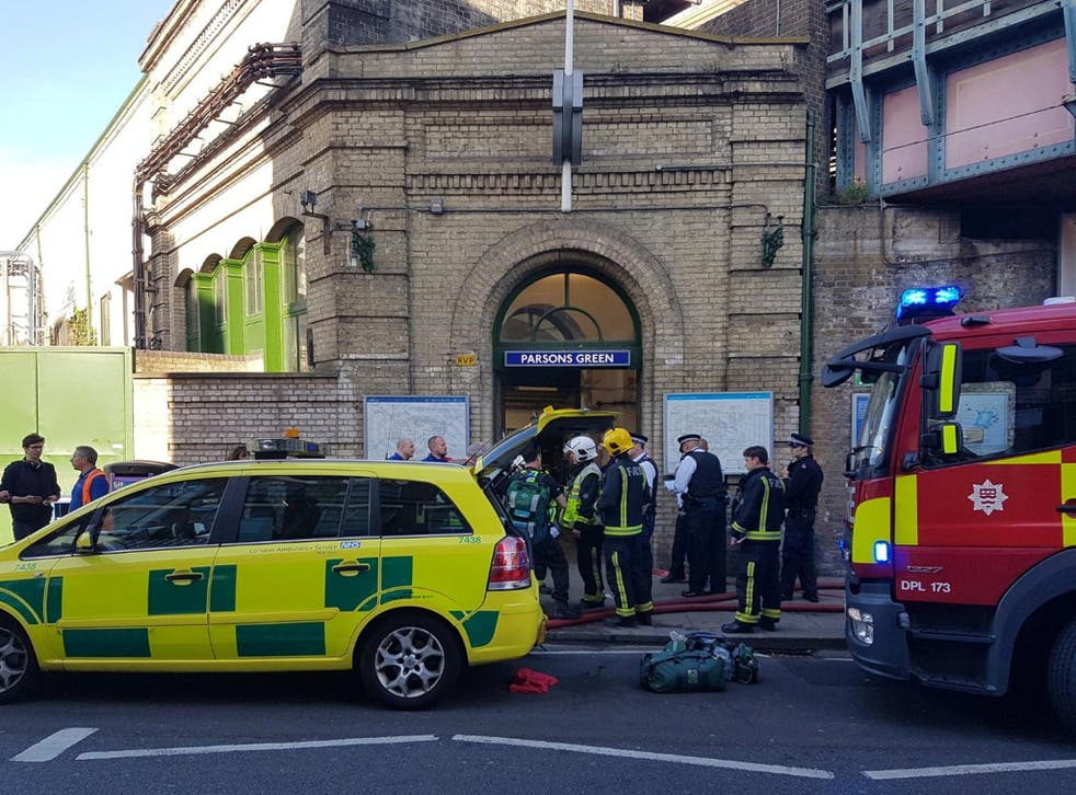 A terror attack on an Underground train at Parsons Green caused panic across the capital