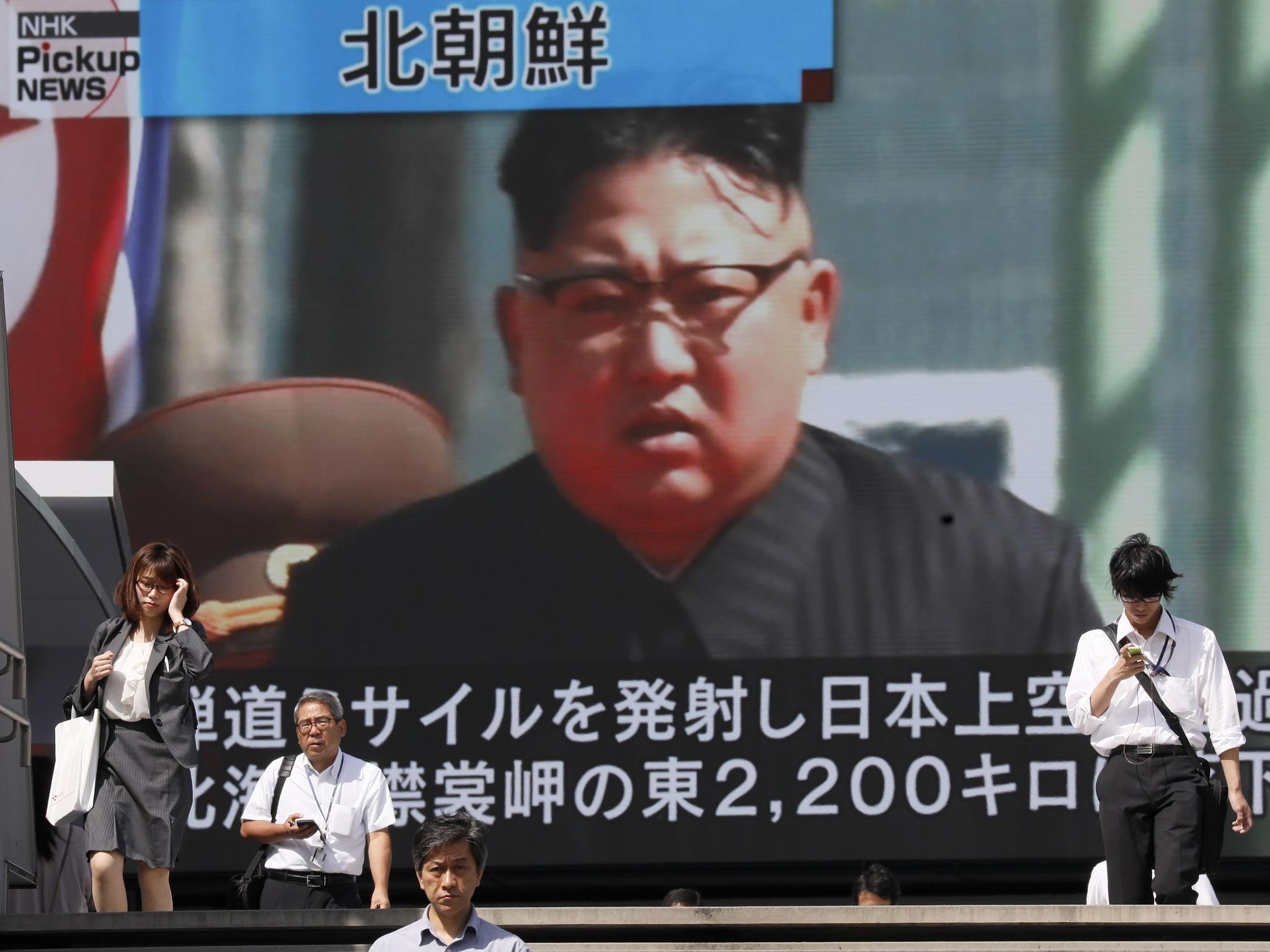 North Korea Missile Launch  Russia Condemns Trump