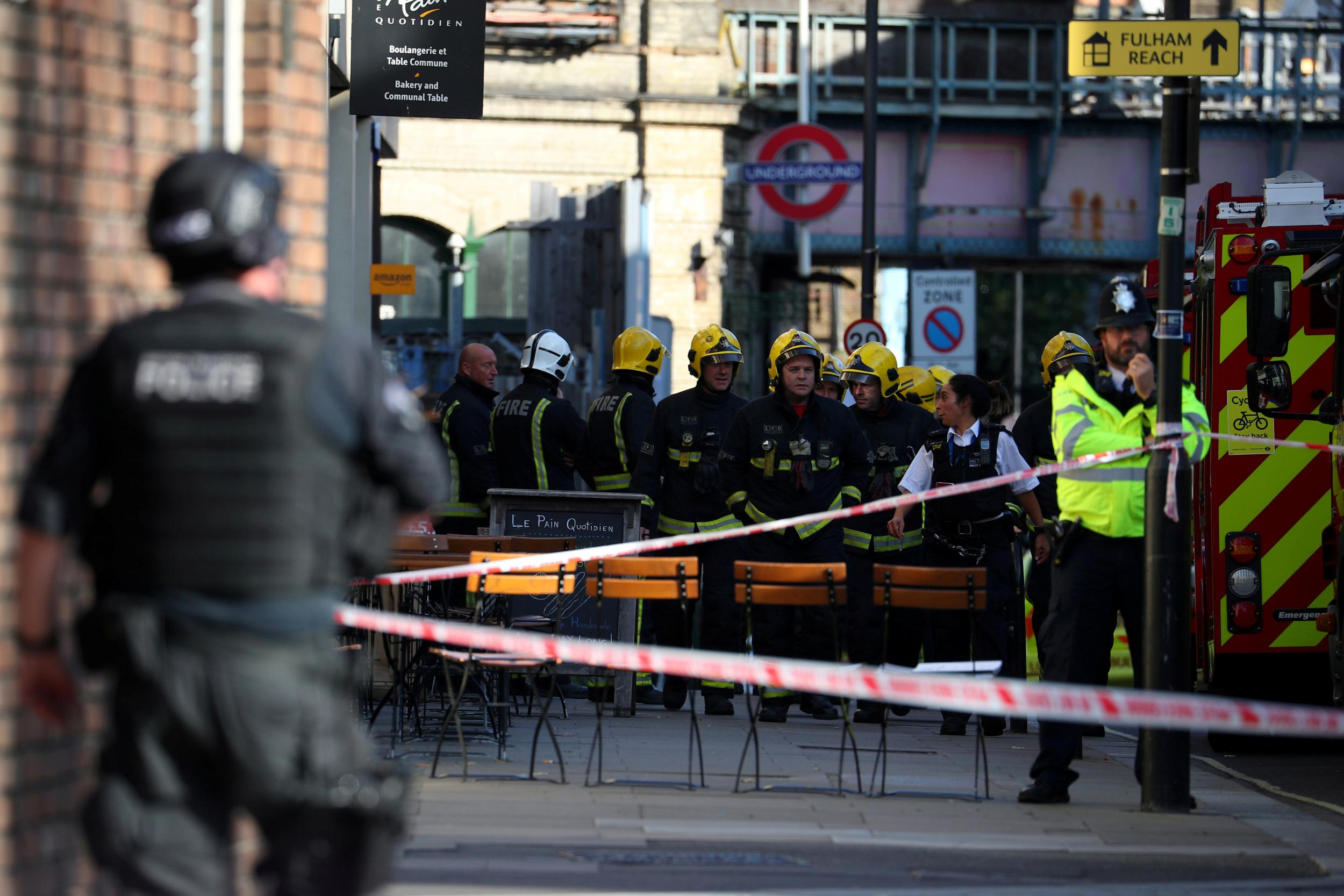 London attack: Parsons Green bomb contained 'mother of Satan' explosive used in Manchester bombing