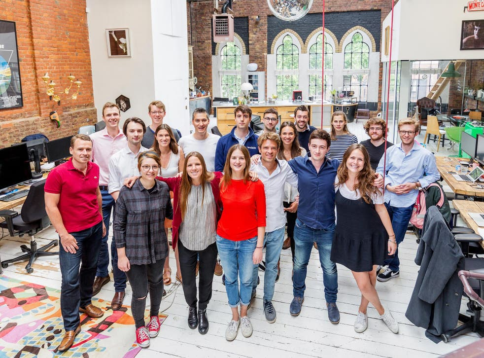 Lendable has a team of 25 at its office in Shoreditch, east London