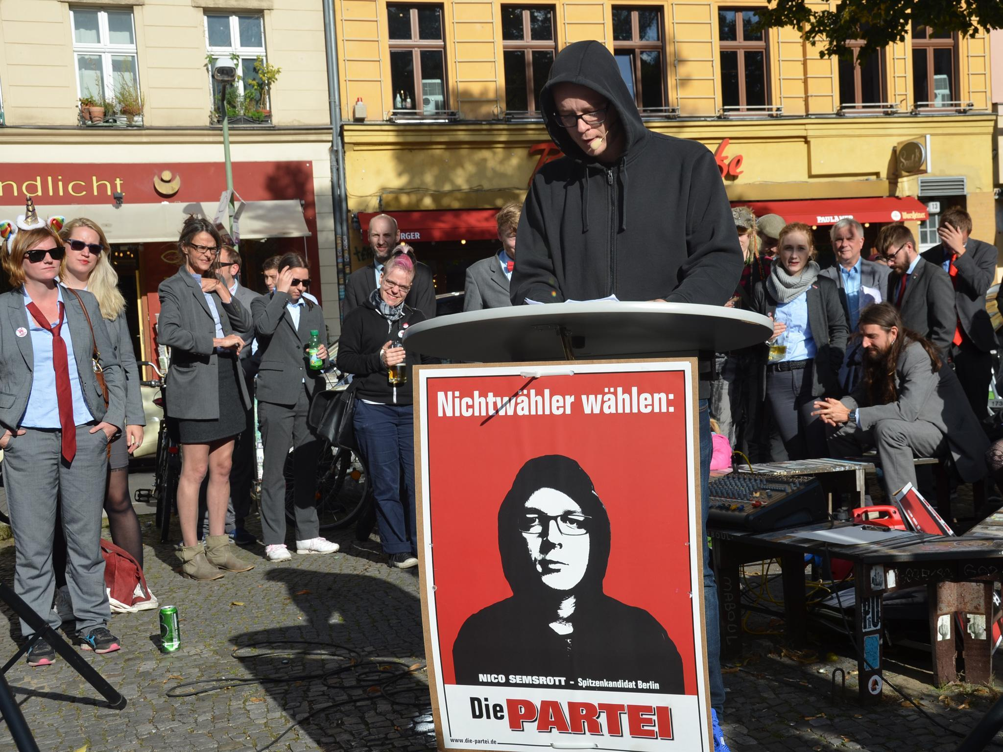 German election 2017: Joke party set up to mock broken system now as ...