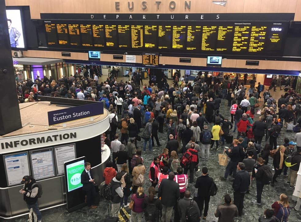 London's Euston station