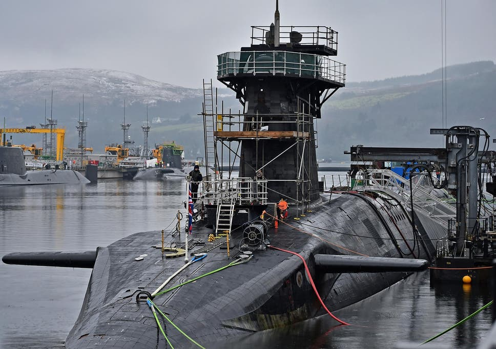 Ministry Of Defence Faces 29bn Shortage In Trident Nuclear Renewal