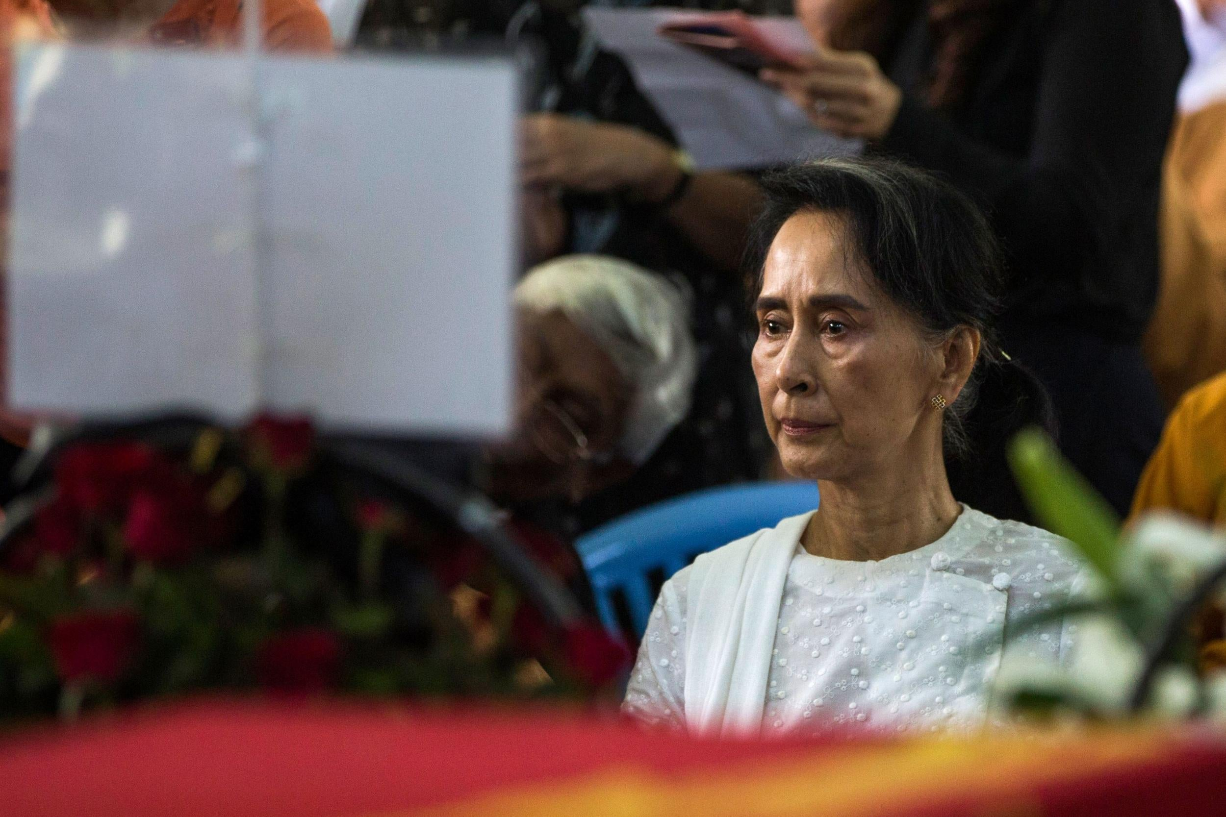 un chief warns of 39 last chance 39 for aung san suu kyi over rohingya crisis the independent. Black Bedroom Furniture Sets. Home Design Ideas