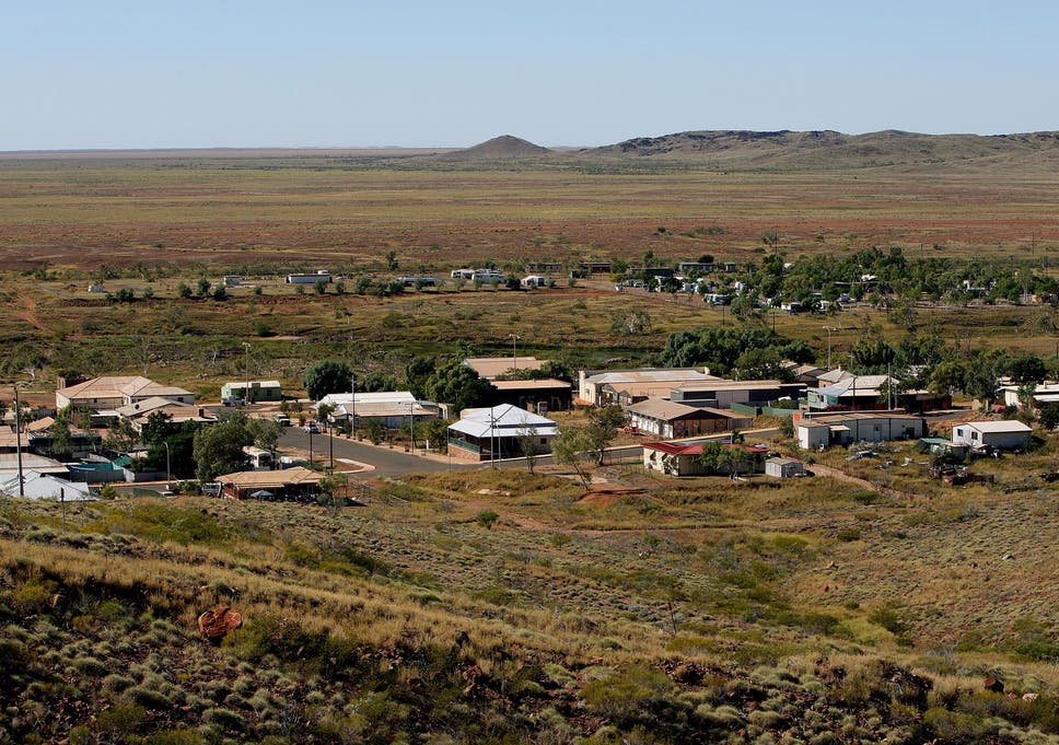 The town of Roebourne in the north of Western Australia has one of the world's highest rates of child sex abuse