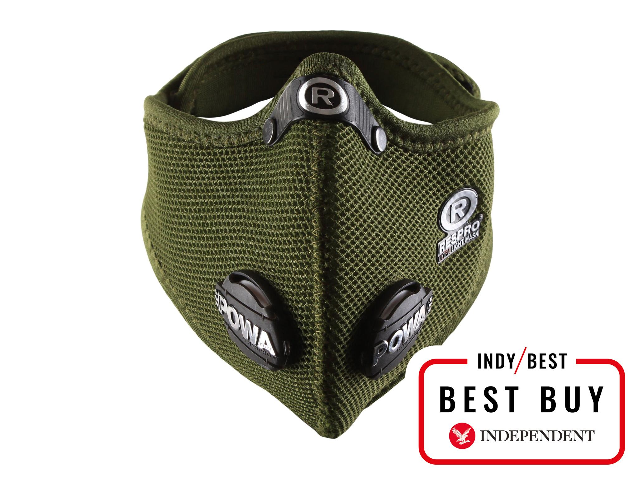 5 best anti-pollution masks for cycling | The Independent