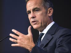 Mark Carney says inflation has further to rise