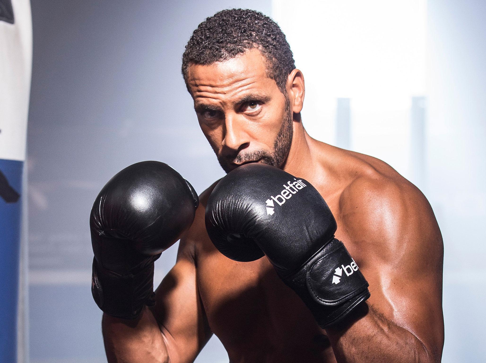 Rio Ferdinand launches bid to be e professional boxer as ex