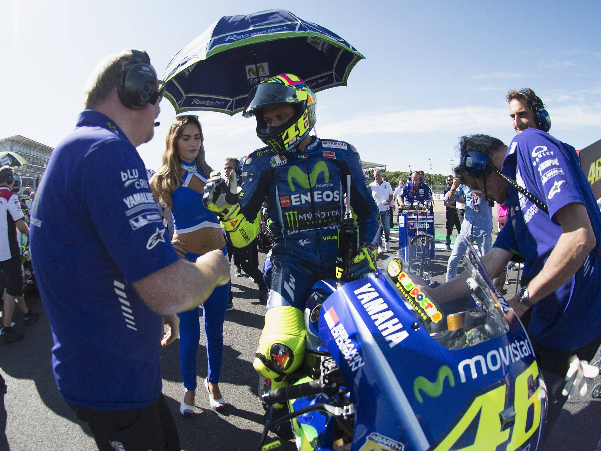 Valentino Rossi Back On A Bike 19 Days After Breaking His Leg In Bid