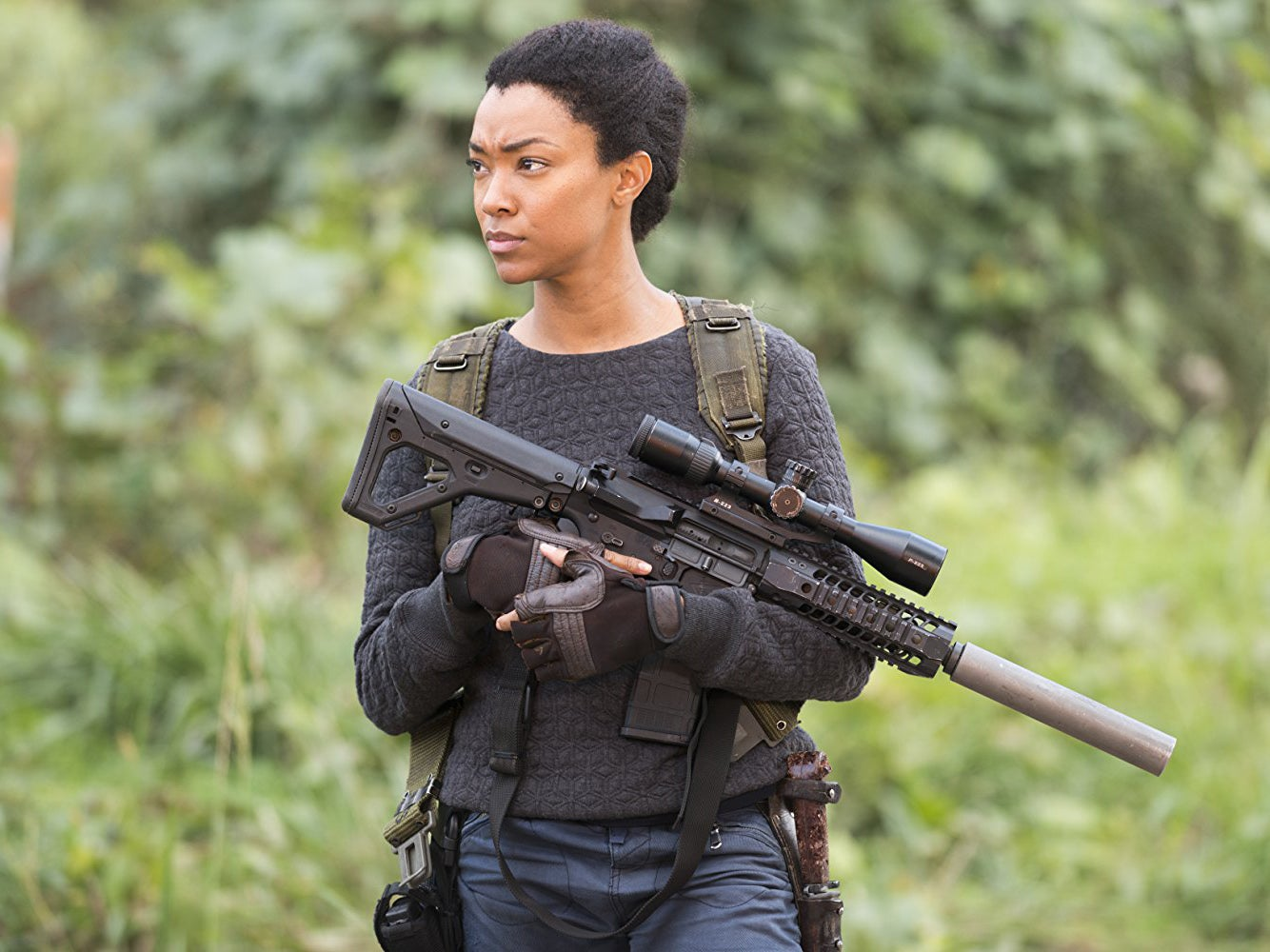 How Sonequa Martin-Green became the first black female lead