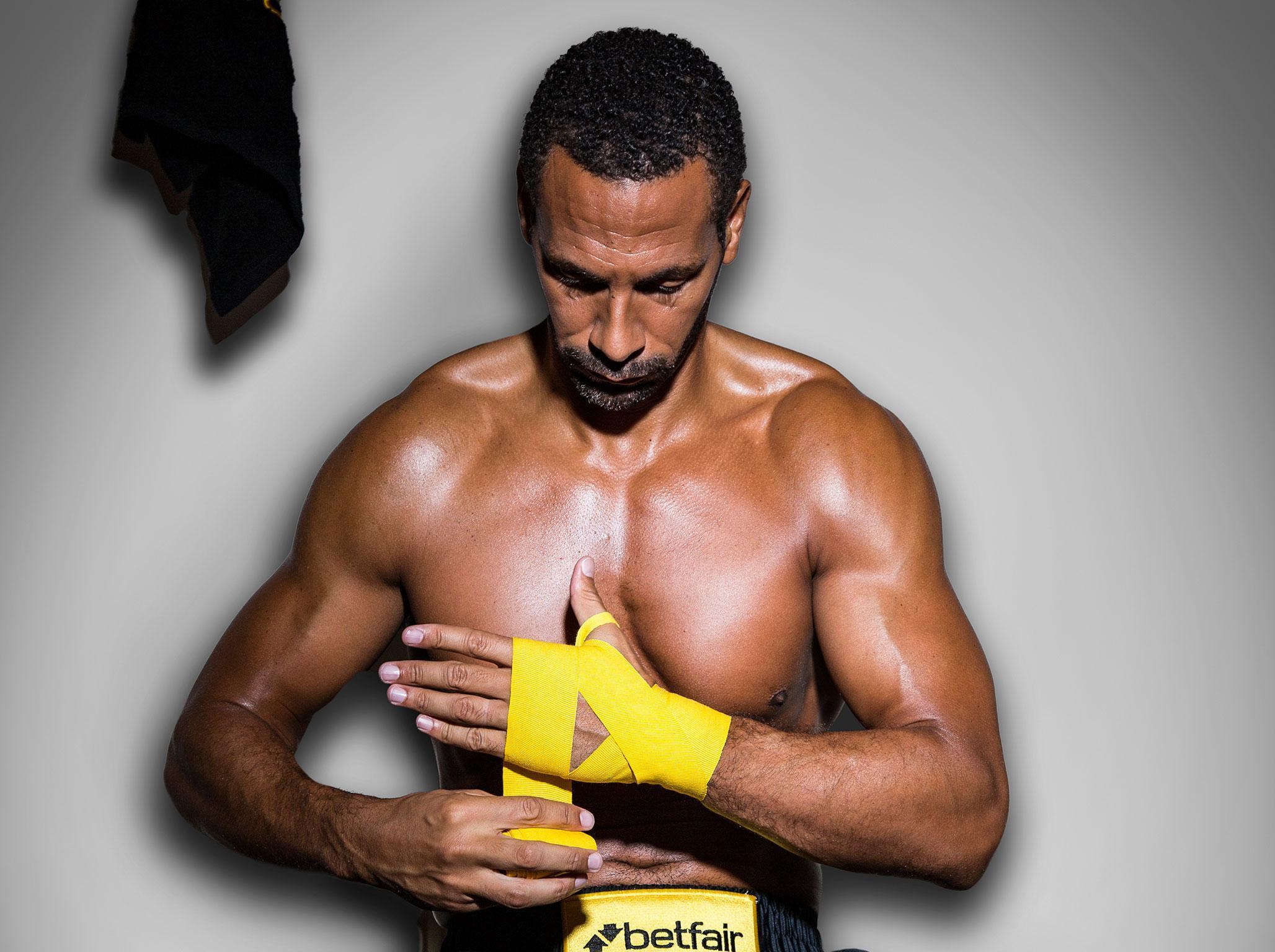 British Boxing Board of Control surprised Rio Ferdinand has